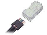 AMP RJ45电缆插头4-554720-3